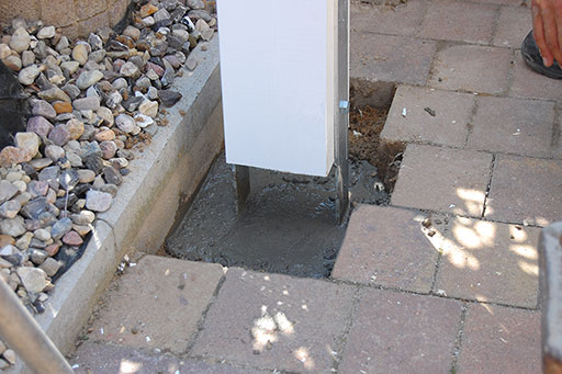 Carport Fundament